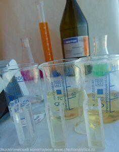 Химический анализ сточной воды определение аммонийных солей и аммиака методика