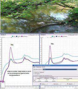 Химическая лаборатория воды,анализ воды на марганец
