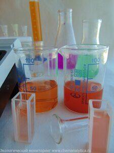 анализ сточной воды на железо