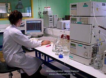 Химический анализ сточных вод, полихлорированные бифенилы в сточной воде(ПХБ)