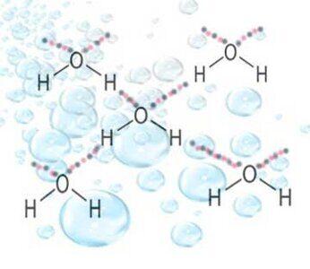 ассоциация молекул в жидкой воде