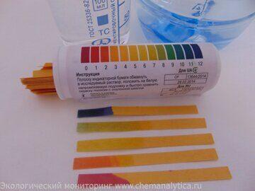 измерение pH,лаборатория