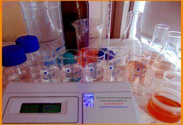 Экспертиза воды, перманганатная окисляемость питьевых природных и сточных вод