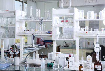 химическая лаборатория общий вид химический анализ резин