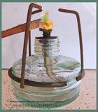 медь окрашивает пламя горелки в зеленый цвет