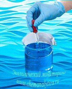 Химический анализ сточных вод определение жиров