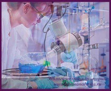 Химический анализ сточных вод, определение сульфатов