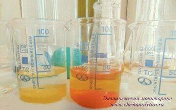 Химический анализ сточной воды, определение алюминия