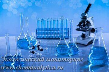 химический анализ воды, анализ воды из родника