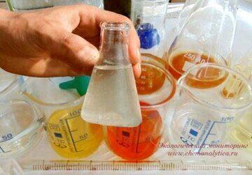 Химический анализ сточных вод определение хлоридов , аргентометрический метод