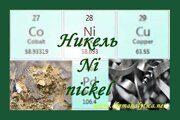 никель формула реакции никеля