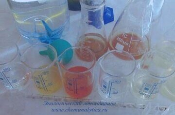 Хром общий в воде (хром шестивалентный в воде)