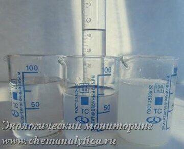мутность и прозрачность питьевой воды